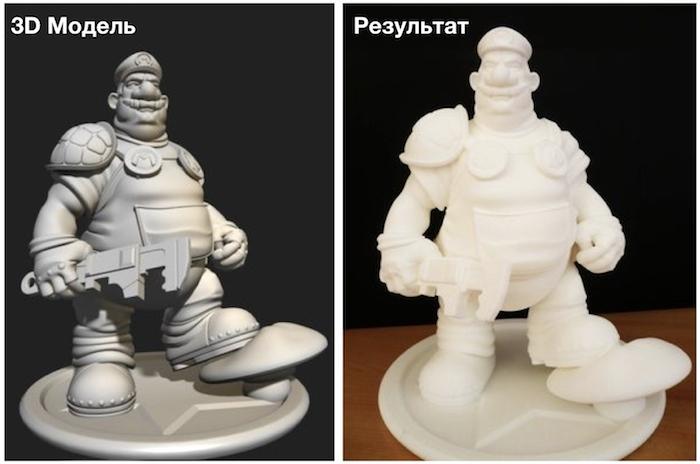 3D печать - фигурка из 3D модели