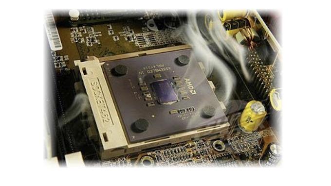 Сгорел процессор