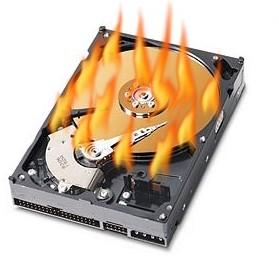 Посыпался жесткий диск