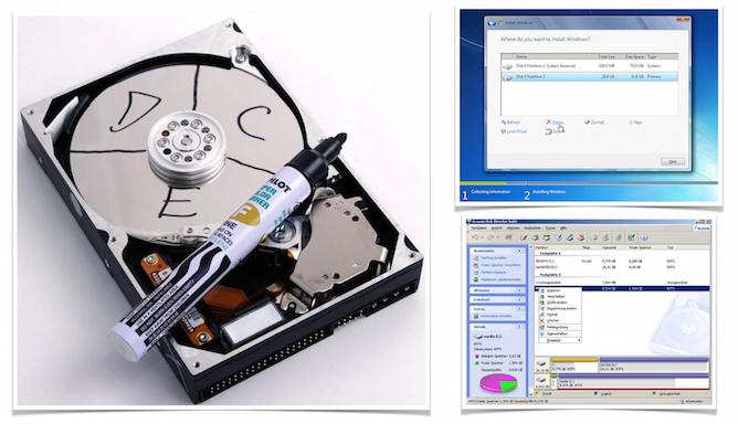 Создание логических дисков