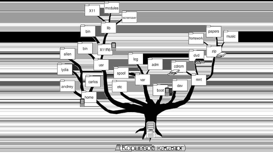 Каталоги Linux