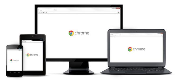 Google Chrome на разных устройствах