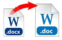 конвертировать doc в docx