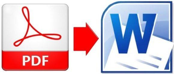 Перевод файлов PDF в Word