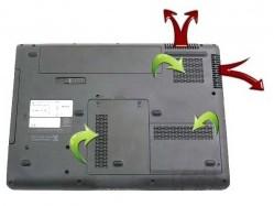 Схема вентиляции ноутбука