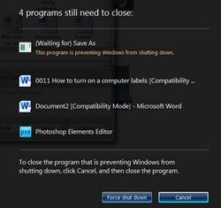 долго выключается компьютер